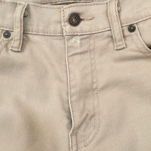 Levi's Jeans - Men's khaki colored Levi's jeans